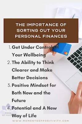 The Importance of Sorting Out Your Personal Finances