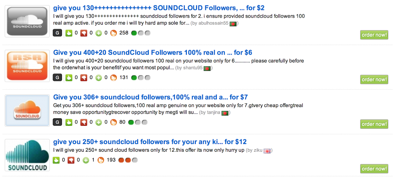 dove comprare follower per soundcloud