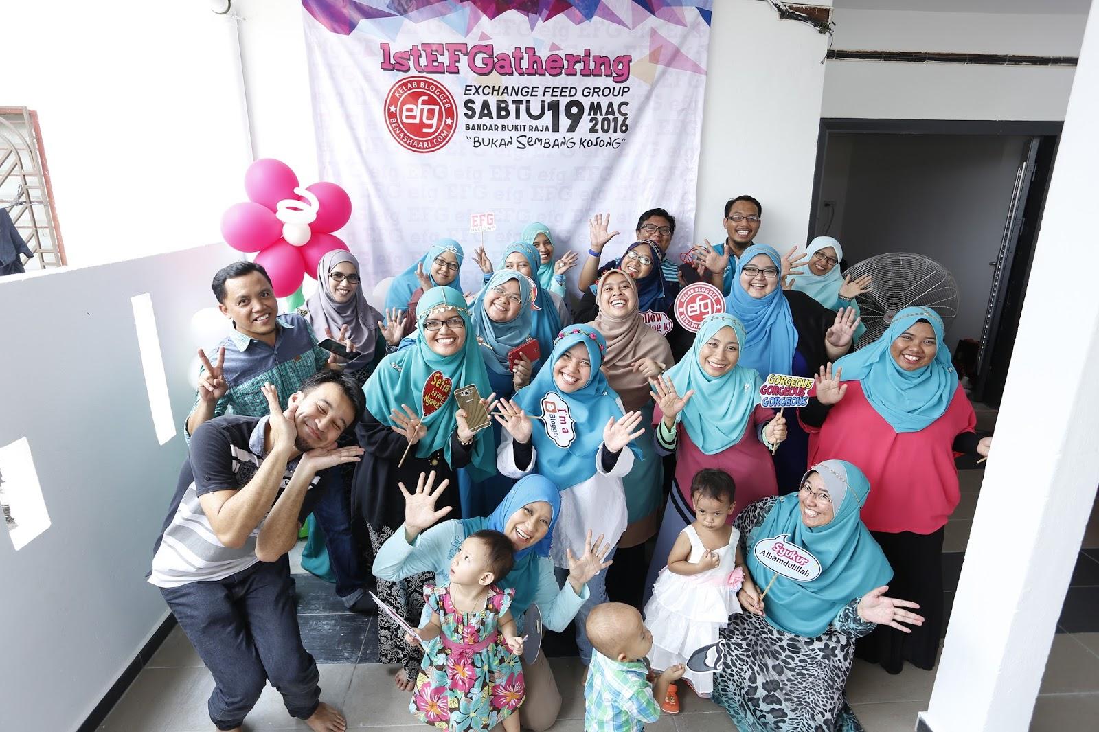 Blogger EFG sudah Seperti Keluarga Sendiri