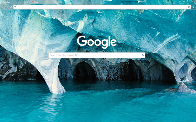 Blue Marble Google Theme