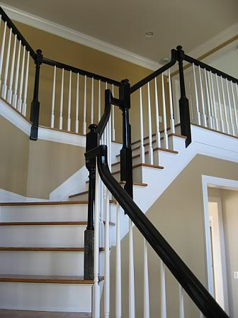 The Collected Interior Inspiration Black Painted Banisters