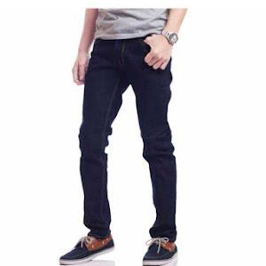 Celana Panjang Jeans Stretch Navy Model Slimfit