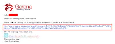 cara verifikasi email pb garena - daftar point blank