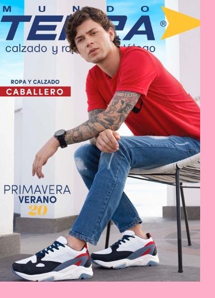 Catalogo Mundo Terra zapatos caballeros Primavera Verano 2020