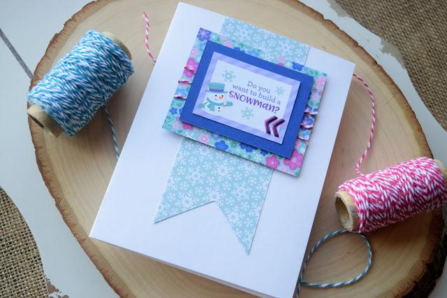 Card using Doodlebug Winter Wonderland by Jess Crafts