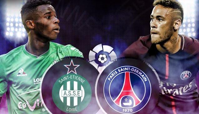 مشاهدة مباراة باريس سان جيرمان وسانت إيتيان بث مباشر