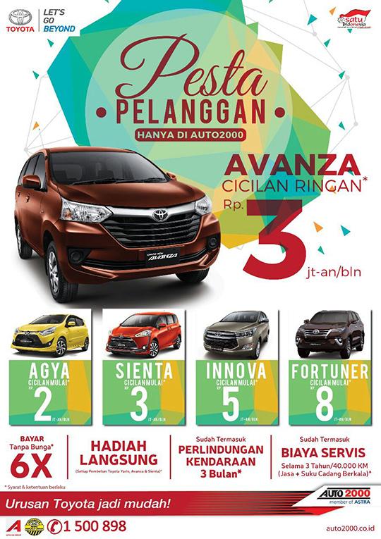 Toyota Tangerang HARGA TERMURAH Se INDONESIA