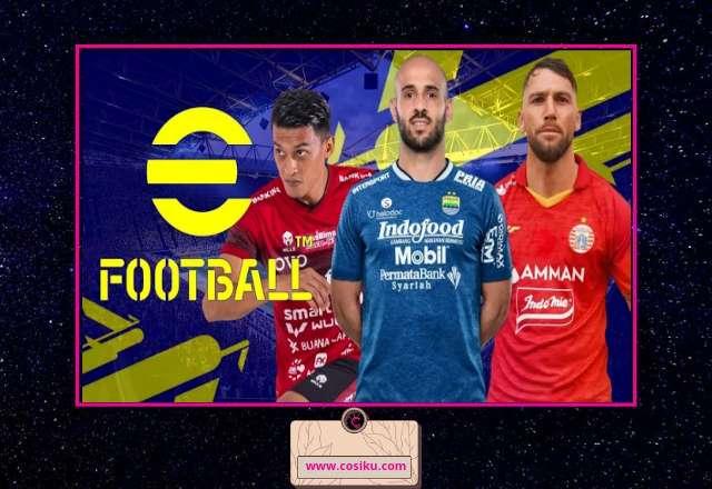 FTS Mod eFOOTBALL PES 2022 Full Asia BRI Liga Indonesia By Gila Game