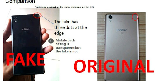 DroidToolz: [BEWARE] Fake Version Of Infinix Hot 2 Phone Is Now In Nigerian Market