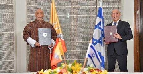 Israel estabelece relações diplomáticas com o Butão