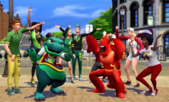 تنزيل لعبة The Sims 4: Discover University من ميديافاير