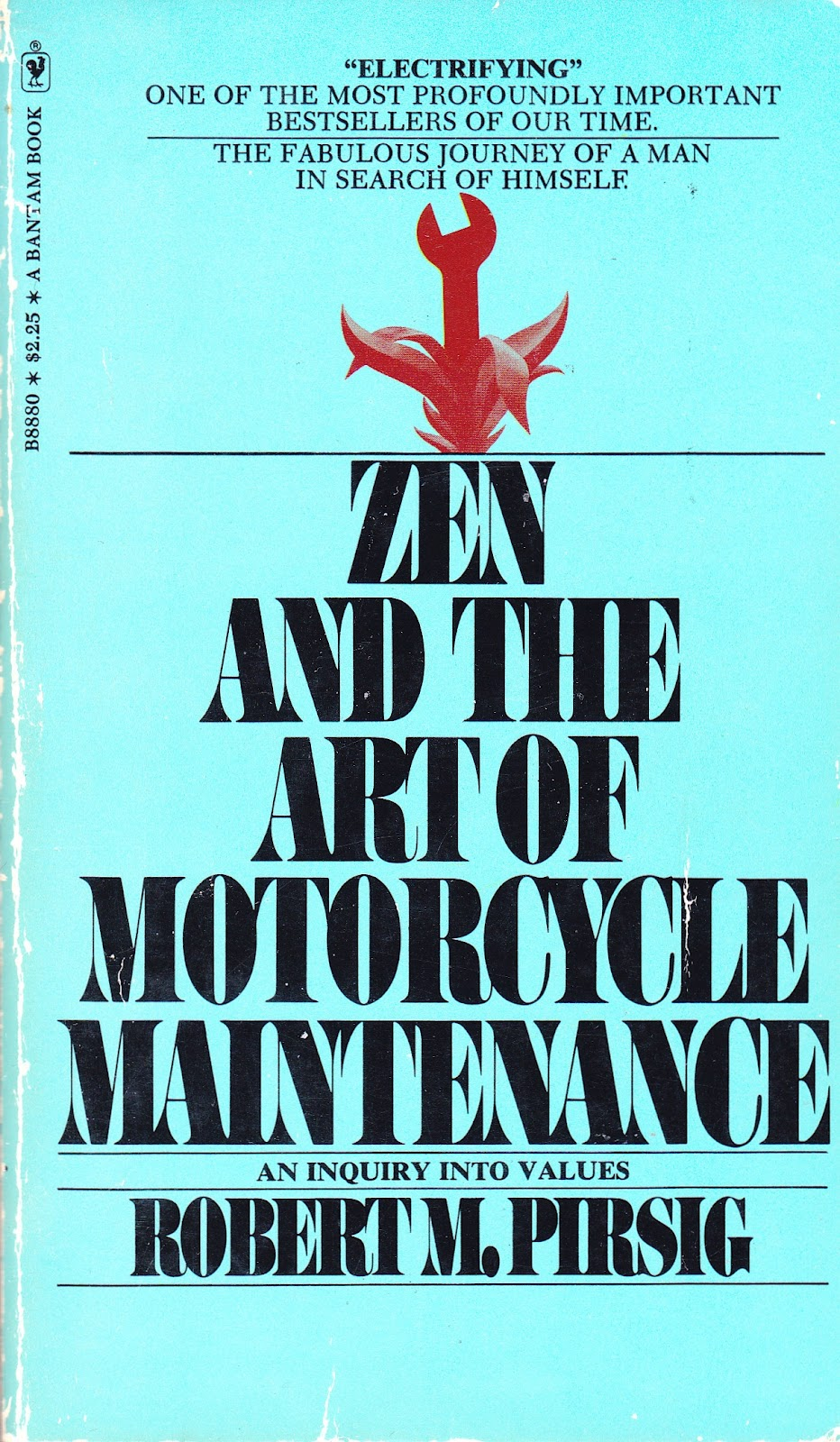Readerbuzz Zen And The Art Of Motorcycle Maintenance Favorite Quotes