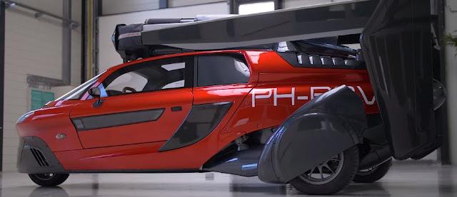 Το πρώτο ιπτάμενο αυτοκίνητο είναι έτοιμο και πραγματικά...πετάει! (video)