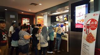 Antrian KFC Pekalongan