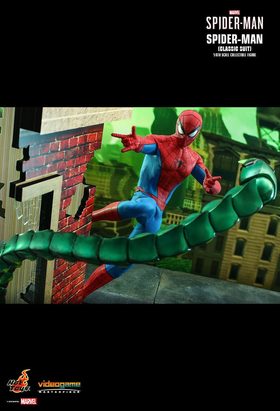 Marvel's Spider-Man Classic Suit Hot Toys