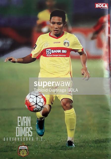 EVAN DIMAS BHAYANGKARA FC