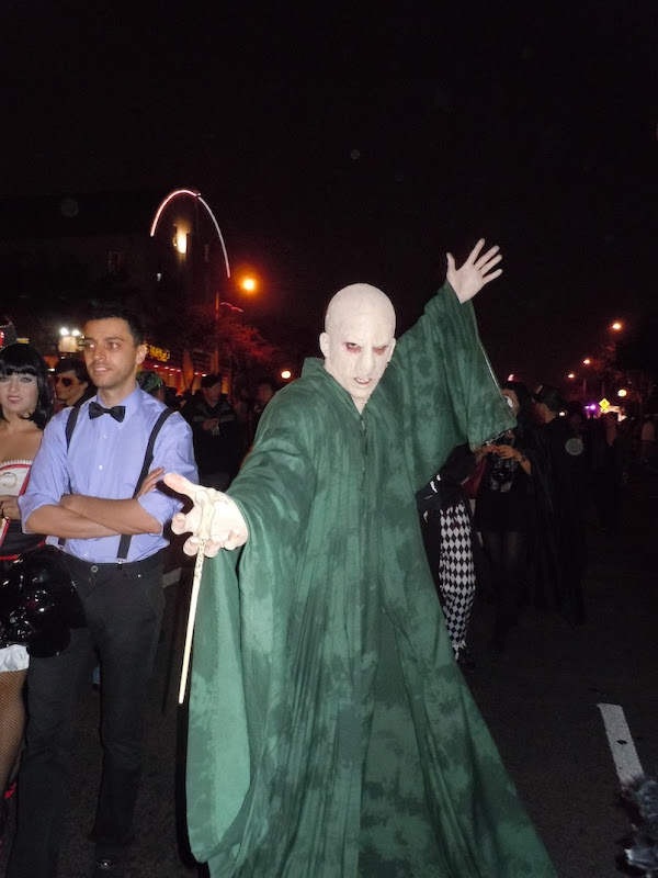 Voldemort costume Harry Potter West Hollywood Halloween
