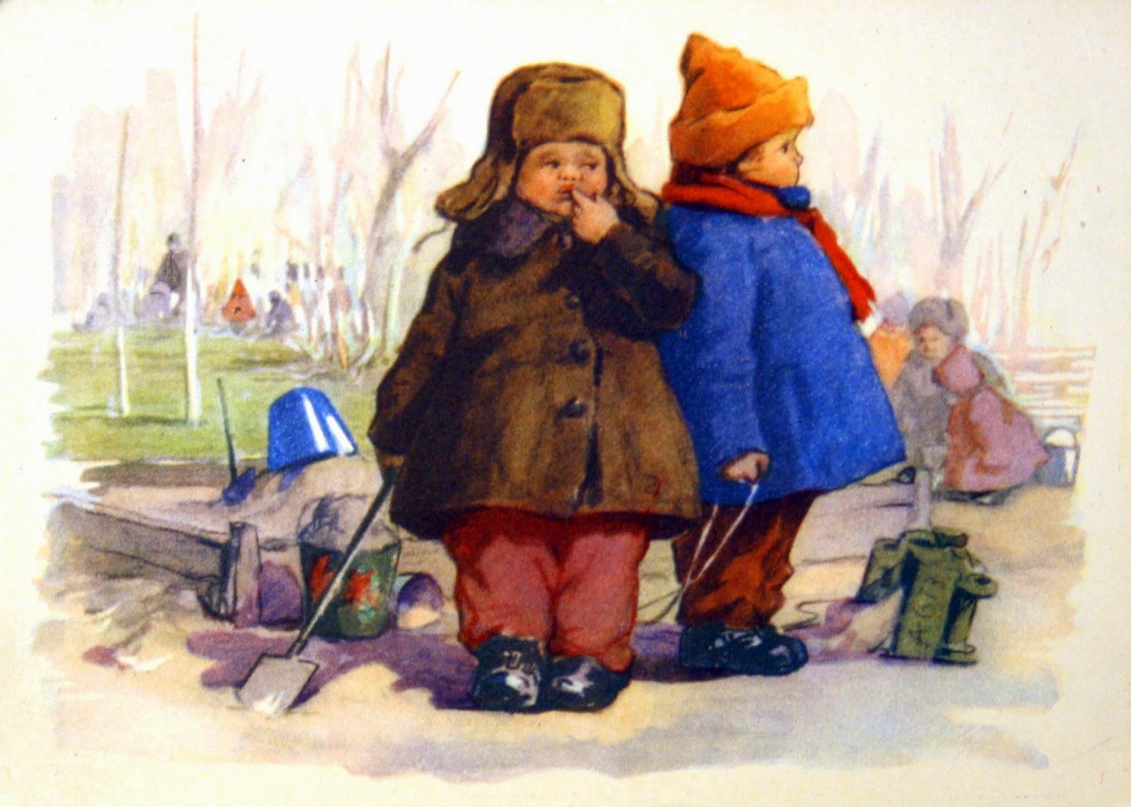 Красивые лилии, открытки с детьми в городе