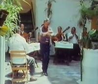 """SANTIGO DONDAY Y LUIS HABICHUELA EN UNA ESCENA DE """"FLAMENCO (AYER Y HOY) TVE 1981"""