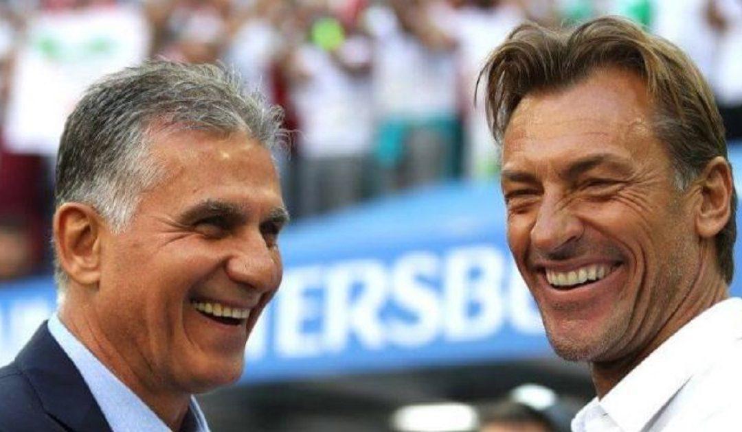 هيرفي رونار يختار الإشراف على المنتخب الإيراني خلفا للبرتغالي كارلوس كيروش
