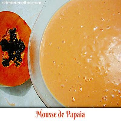 Mousse de Papaia