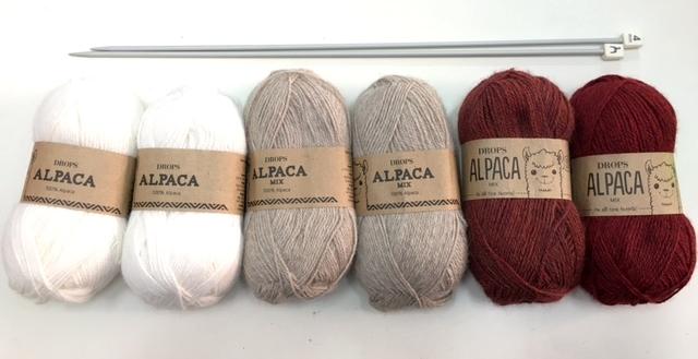 lana de alpaca de Drops