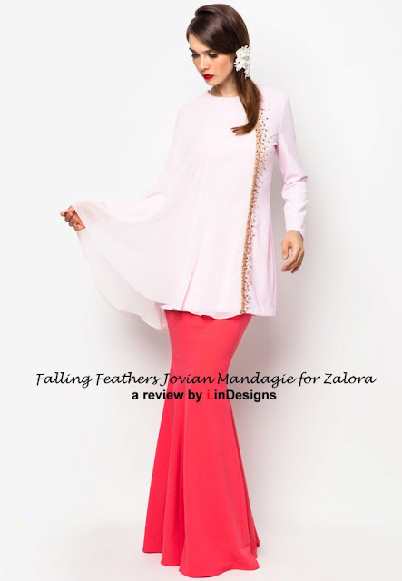 New baju kurung style design by Jovian Mandagie at Zalora
