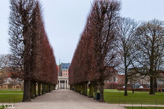 Fotografía de los Jardines del castillo de Rosemberg