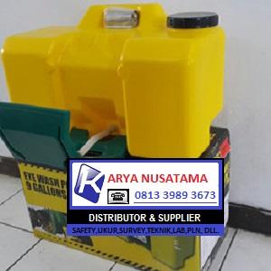 Jual Eye Wash Portable 9 Gallons Yellow Krisbow di Subaraya