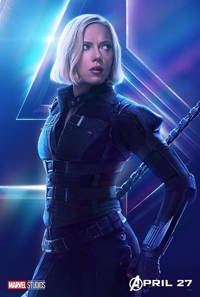Avengers: Infinity War Black Widow