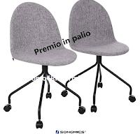 Logo Vinci gratis un esclusivo Sgabello Songmics Italia