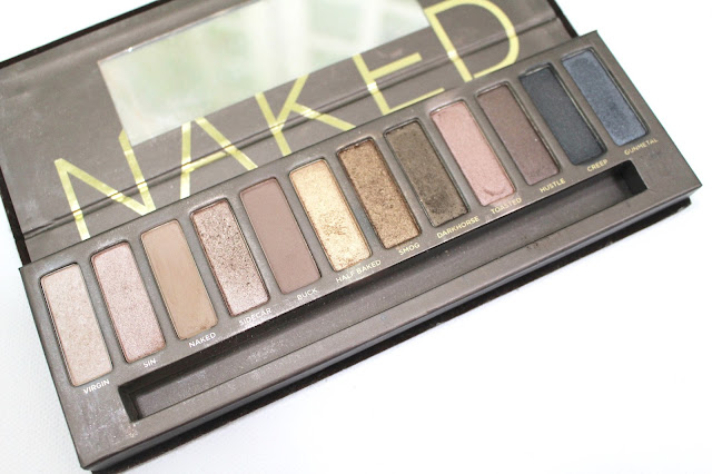 Urban Decay, Naked Swatches