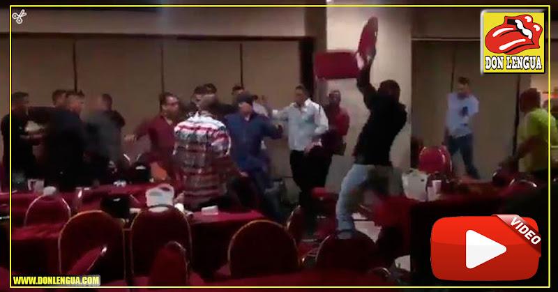 Concierto de Vallenatos en Maracaibo terminó con sillas volando y botellas partidas