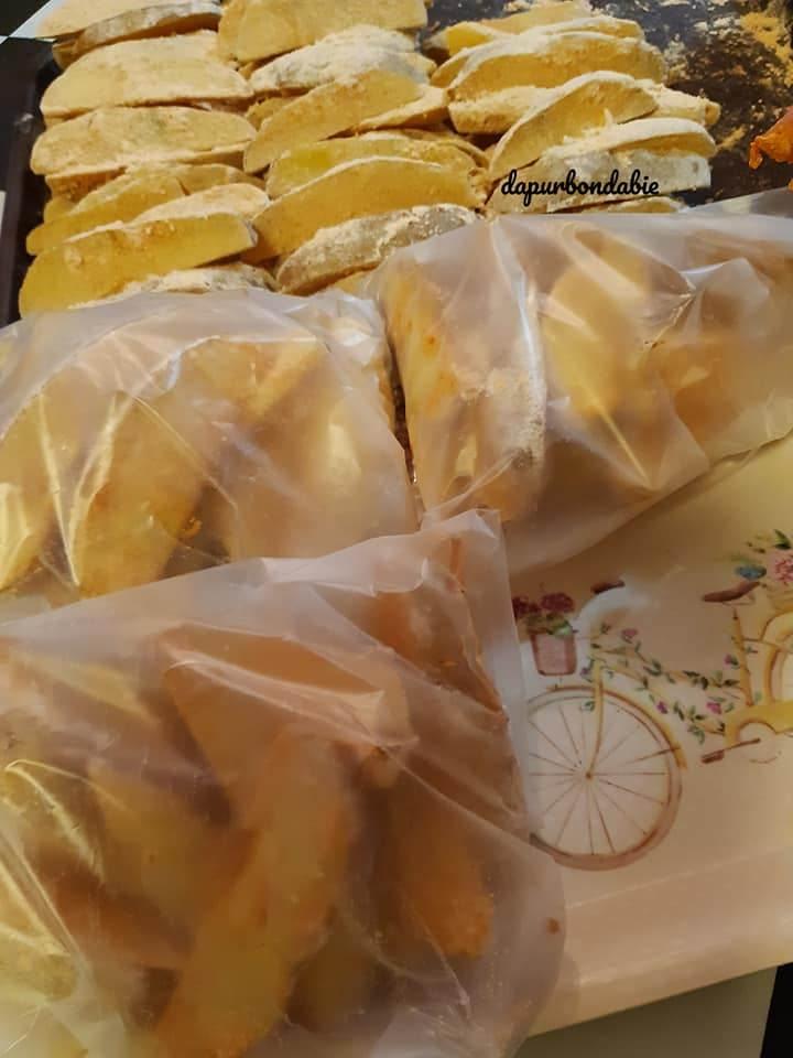 resepi kentang cheesy wedges ala kfc  sedap  mudah bukit besi blog Resepi Kentang Jacket Enak dan Mudah