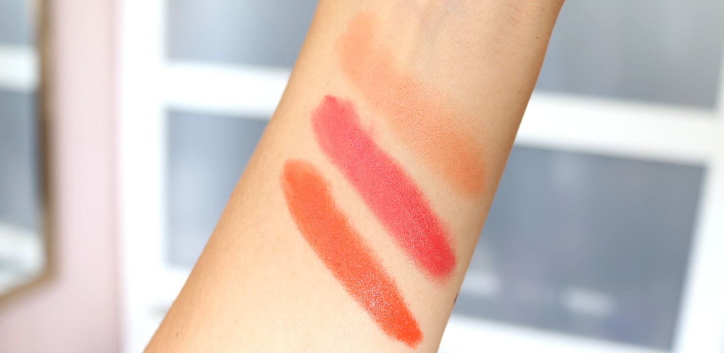 3 Moisture-Boost Natural Lipsticks To Try From Antipodes - South Pacific Coral, Golden Bay Nectar & Piha Beach Tangerine - Review & Swatches