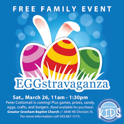 Greater Gresham Baptist Church Eggstravaganza 2016