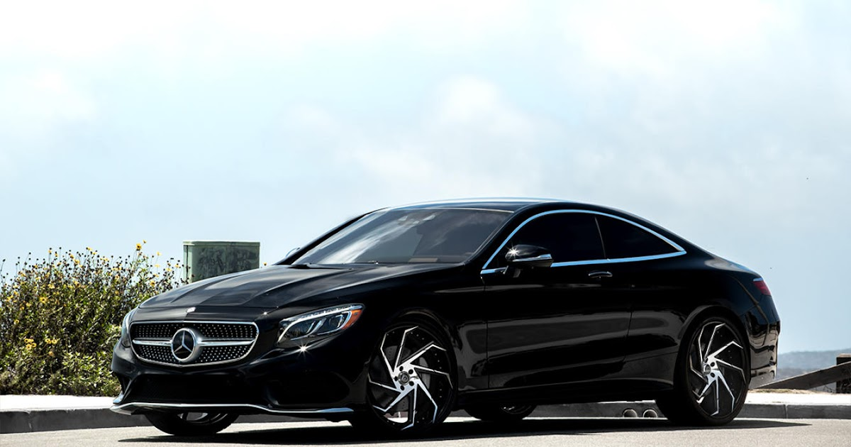 Mercedes Benz S550 Coupe On 22 Lexani Wheels BENZTUNING