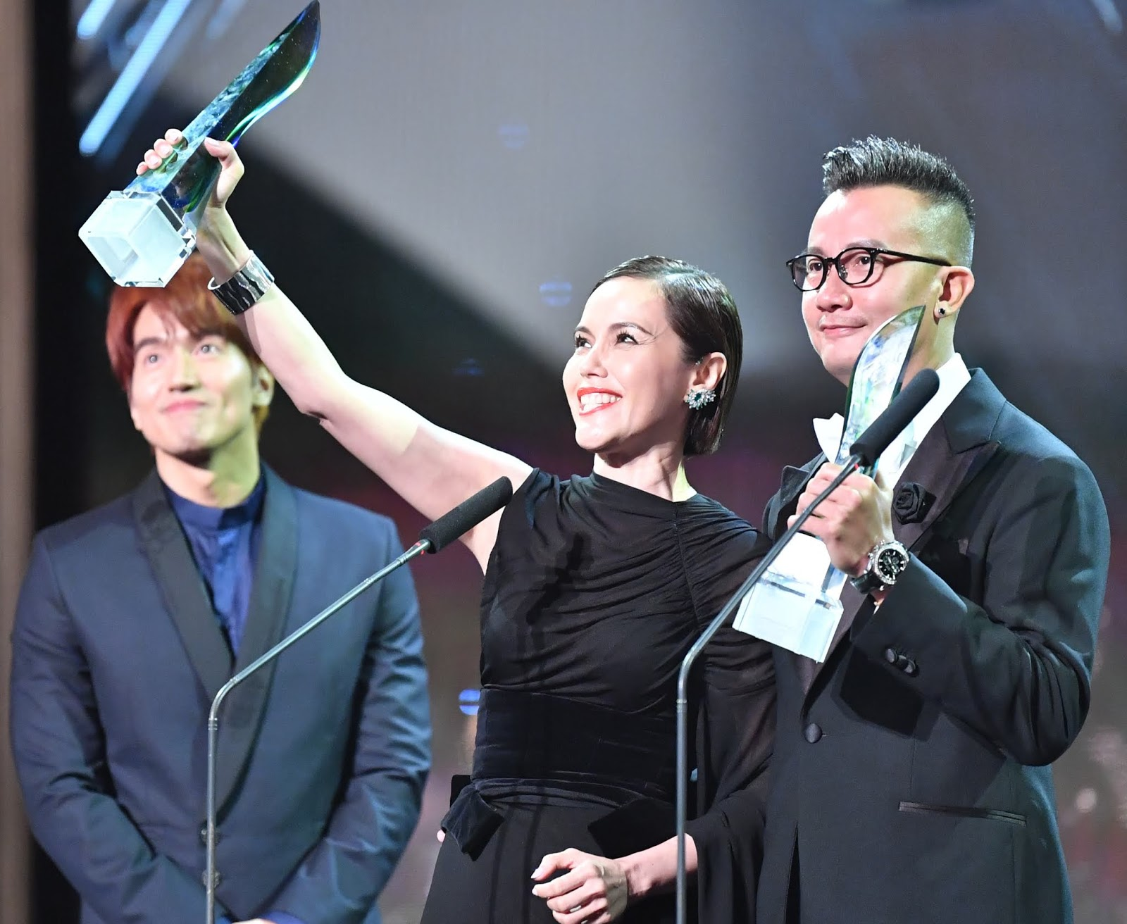 Zoe Tay and Chen Hanwei won Best Actress and Best Actor respectively