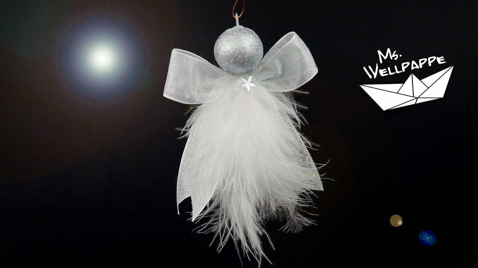 Basteln Und Mehr Susse Engel Basteln Zu Weihnachten Aus