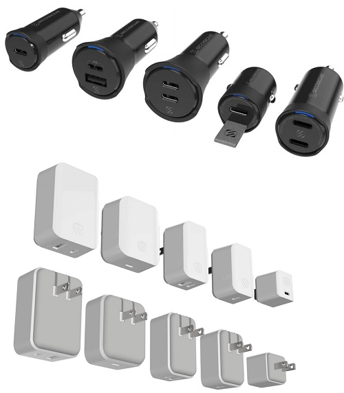 PowerVolt USB-C Car and Wall Chargers