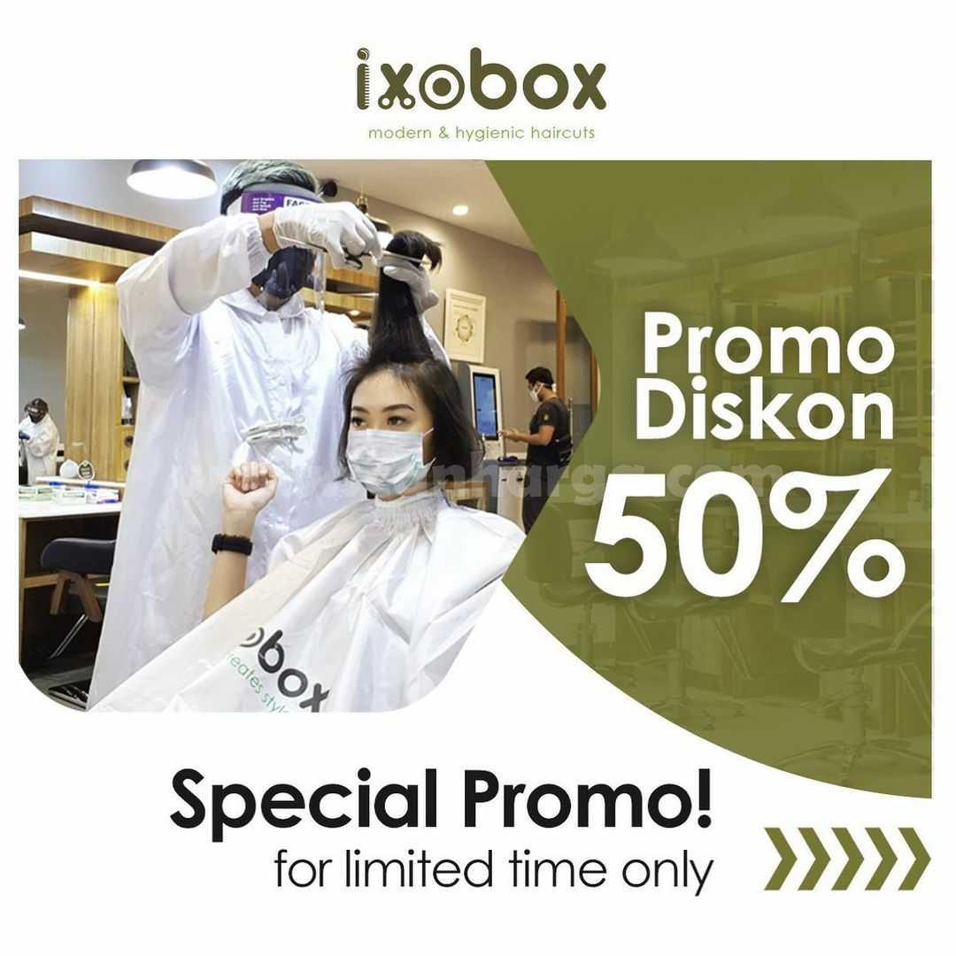 Ixobox Promo Spesial Diskon 50%
