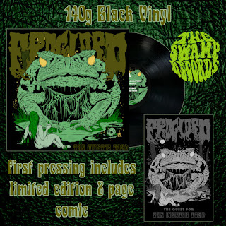 Froglord vinyl and comic pre-order