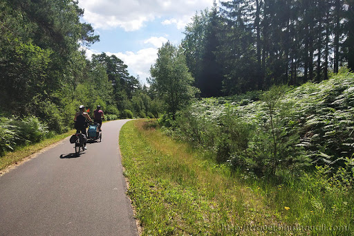 Cycling in Belgium Vennbahn Fietsroute