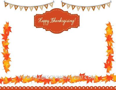 Thanksgiving Border Free