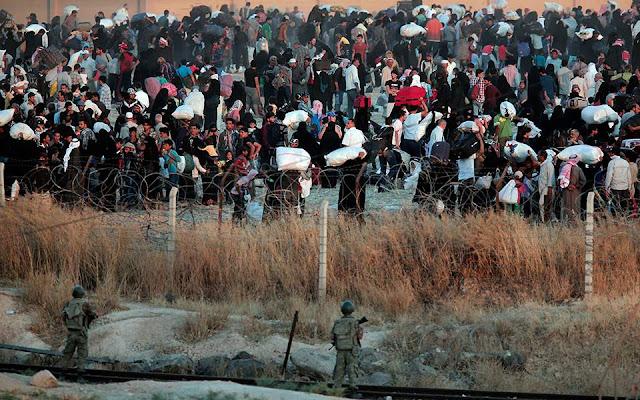 H Άγκυρα στέλνει διά της βίας Σύρους πρόσφυγες πίσω στην πατρίδα τους
