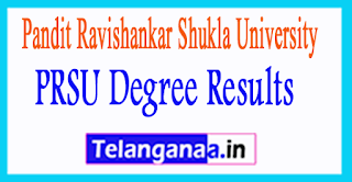 PRSU Degree Results