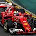 F1: Vettel y Ferrari van por todo en el primer gran premio del 2017