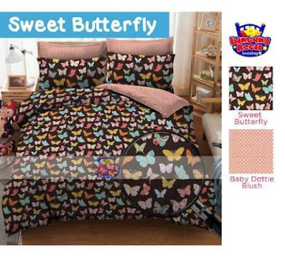 Sweet Butterfly bahan cotton cvc star