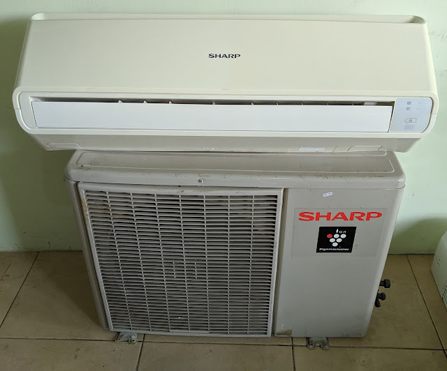 Jual AC Sharp 1 PK Low Watt Gratis Pemasangan