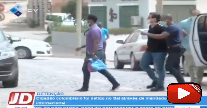TV de Cabo Verde presenta videos del traslado de Alex Saab esposado  y custodiado